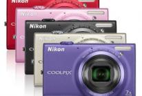 Nikon Coolpix S6100 + Borsa Nikon color