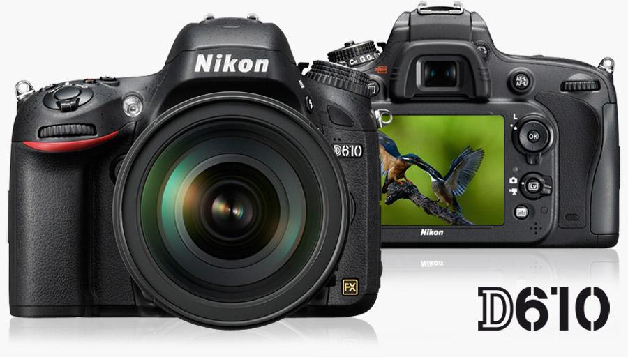 Nikon D610 DISPONIBILE